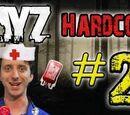 DayZ Hardcore! - Part 2 (BLOOD BAGS EVERYWHERE!)