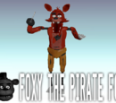 Foxy the Pirate Fox