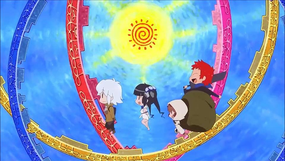 Dungeon ni Deai Ending - Right Light Rise - Kanon Wakeshima