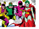 Frightful Four (Earth-616) Trapster, Sandman, Wizard, Llyra from Amazing Spider-Man Vol 1 214.jpg