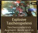 Explosive Taschenspielerei