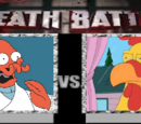 Dr. Zoidberg vs Ernie the Chicken