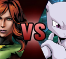 Jean Grey vs. Mewtwo
