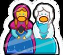 Anna and Elsa Pin