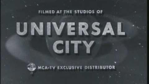 Universal Television Logo (1964) B&W
