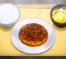 Improvised Mackerel Burger Meal
