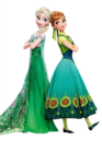 Elsa and Anna Frozen Fever Render.png