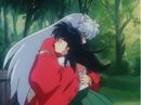 Inuyasha hugs Kagome.png