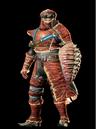 MHO-Red Khezu Armor (Gunner) (Male) Render 001.png