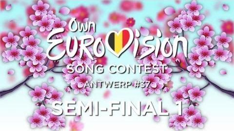 OESC 37, Semi-final 1 Antwerp, Belgium