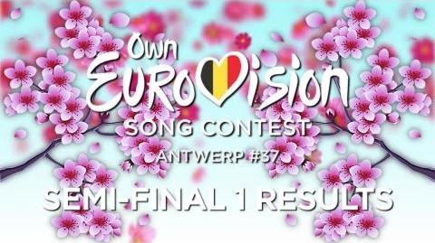 OESC 37, Semi-final 1 (Results)