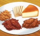 Smoked Cheese and Three Types of Jerky