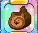 Yellow Bear Jelly Choco Cake