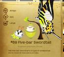Five-bar Swordtail