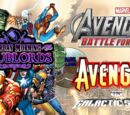 Avengers in Galactic Earth Storm for Battle