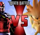 Magneto vs. Silver the Hedgehog