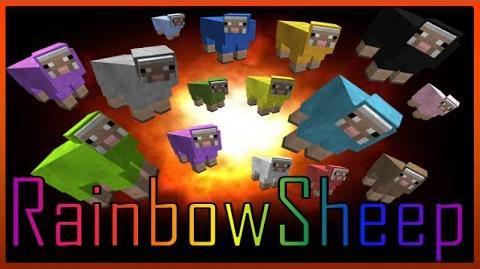 Minecraft 1.7.4 Rainbow Sheep Secret Trick & More!
