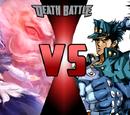 Ichirin Kumoi & Unzan vs Jotaro Kujo & Star Platinum