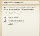 No More Sand for Reynard