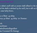 Ancient Skull Staff