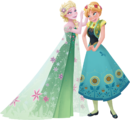 Frozen Fever - Anna and Elsa 1.png