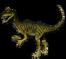 Kriolofozaur - domyślna skórka