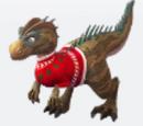 Holiday Allosaurus