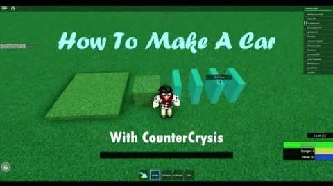 Survival Beginnings - How To Make A Car