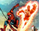 Peter Parker (Earth-616) and the Human Torch from Spider-Man Human Torch Vol 1 1.jpg