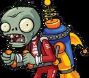 Raketenrucksack-Zombie