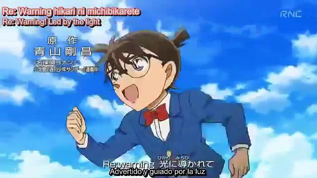 Detective Conan OP40 We Go Eng Sub Esp Sub