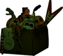 Caja de animatronicos toy