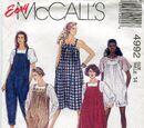 McCall's 4992 B