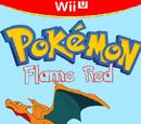 Pokemon Flame Red and Aqua Blue