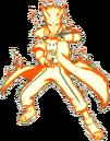 Minato's nine-tails chakra mode.png