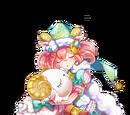 綿羊睡衣的愛睏女孩 合歡