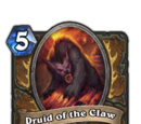 Druid of the Claw (taunt)