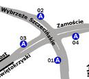 Zespół przystankowy Most Świętokrzyski
