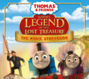 Sodor's Legend of the Lost Treasure: The Movie Storybook