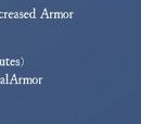 Increased Armor