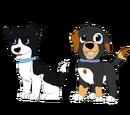 Yin and Yang: Wess X Igloo pups