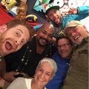 Kevin Michael Richardson with Andrea Romano, Seth Green, Rob Paulsen, Greg Cipes, & Sean Astin.jpg