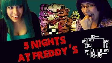 Game Lover 5 Nights at Freddy´s Shirahime y Hedelex