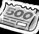 Le Numéro 500 (pinz)