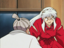 Inuyasha in Kagome's house.png