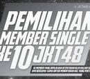 Pemilihan Member Single Ke-10 JKT48