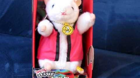 """Dancing Hamster Collection SEXY REX """"Too Sexy For My Shirt"""""""