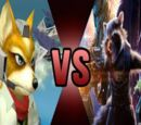 Fox McCloud vs Rocket Raccoon
