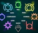 Rainbow lantern corps