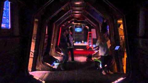 Dark Matter - Behind the Scenes - Testing The Emergency Lights